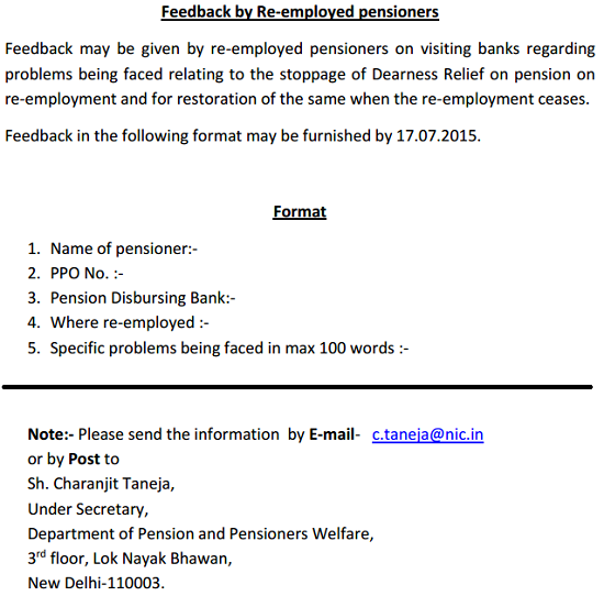 Re-employed-Pensioners