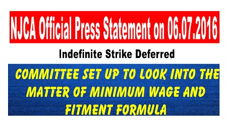 Indefinite Strike Deferred