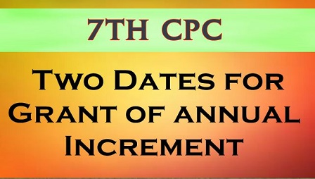 7th cpc increment 2 date