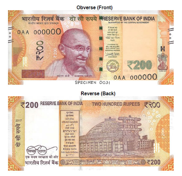 salient features of rbi Salient features of genuine currency notes by rbi general rupee one notes are issued with the signature of the secretary, ministry of finance, government of india.