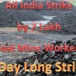 Coal Workers nationwide strike