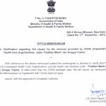 Clarification on CGHS Health Care Facilities Under 'Pardhan Manri Jan Arogya Yojana'